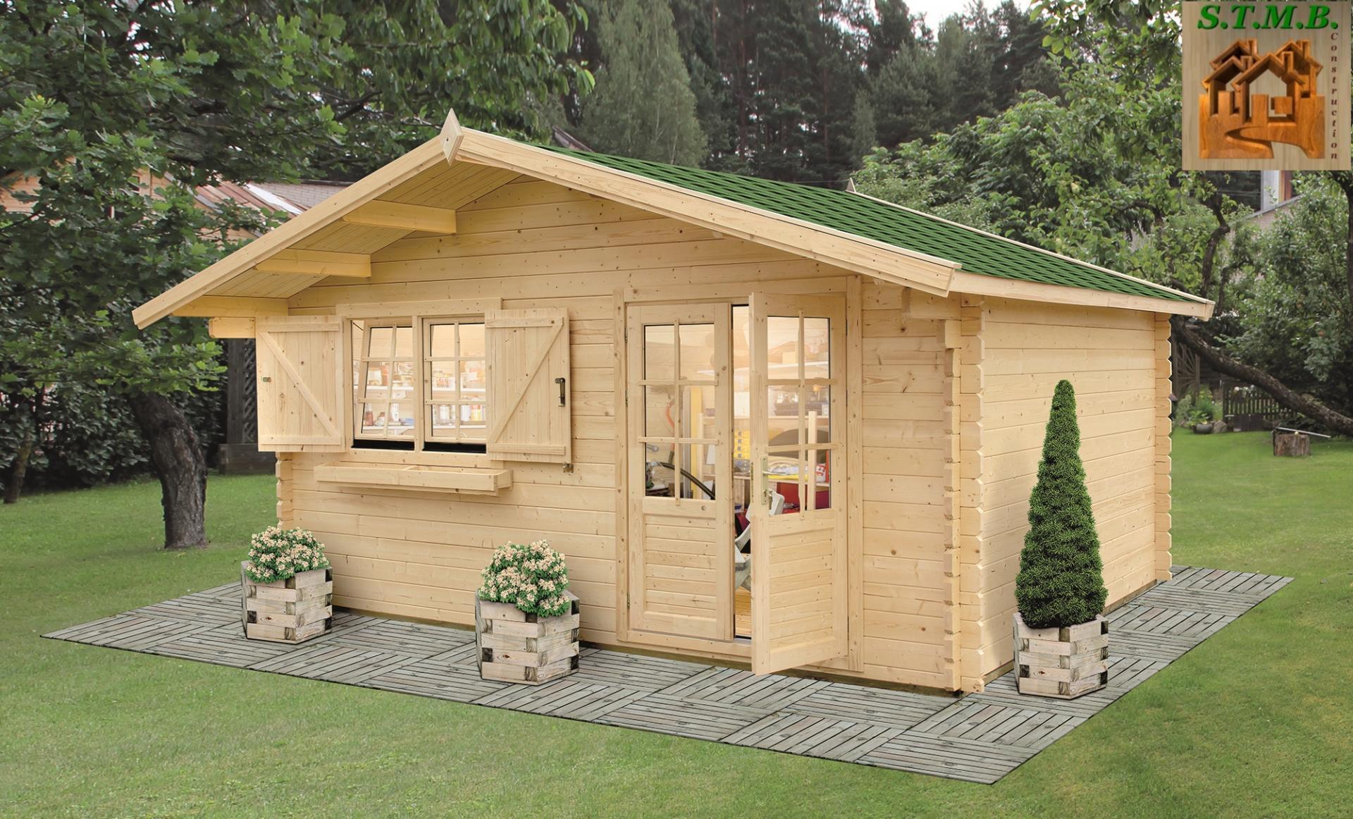 Quelles sont les conditions pour construire un chalet en bois habitable sans permis ?
