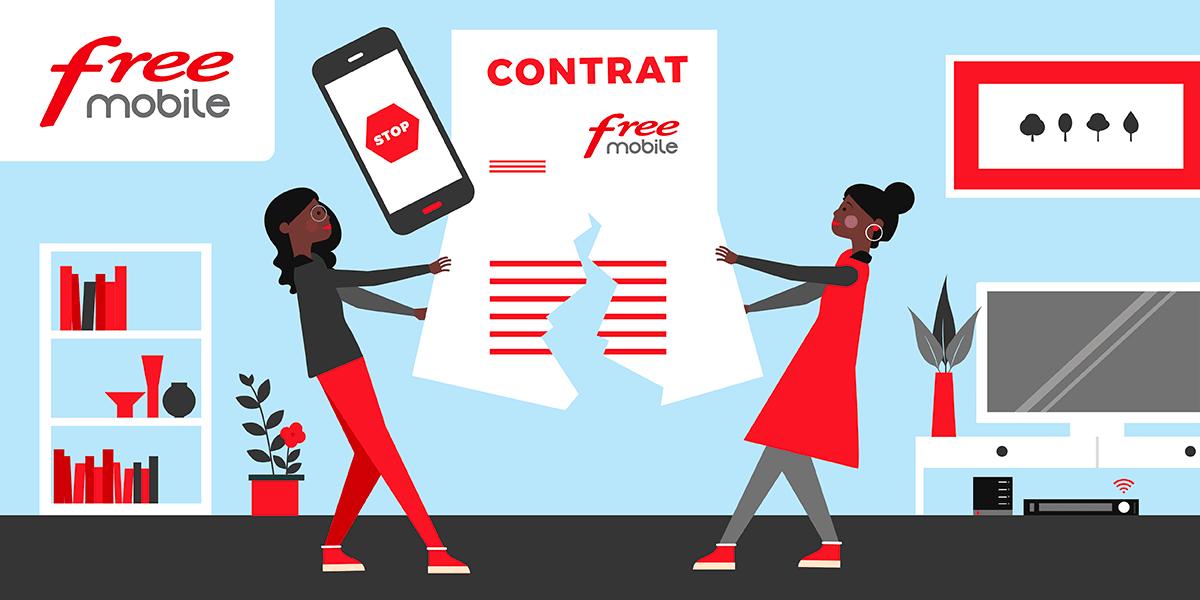 Comment résilier Free Mobile en ligne ?