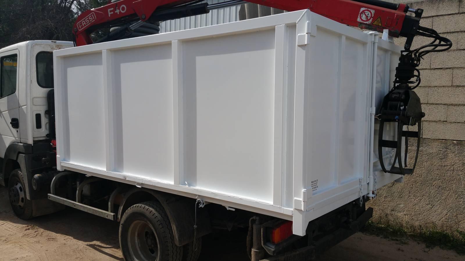 cas particulier utilisation camion benne ampliroll 3.5 t