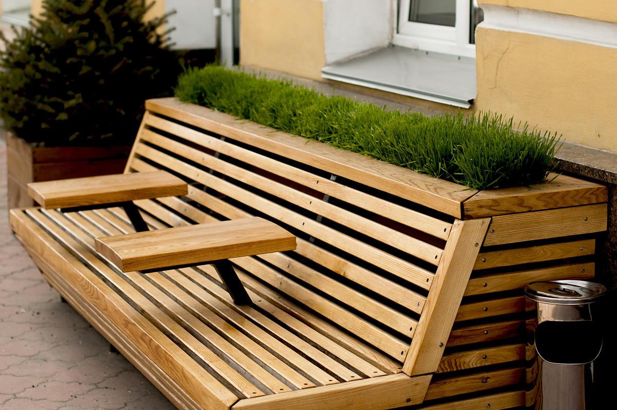 Où acheter des mobiliers urbains en bois ?