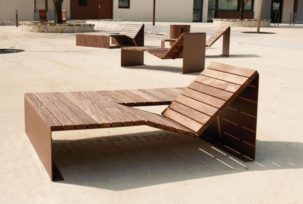 mobilier urbain sur mesure
